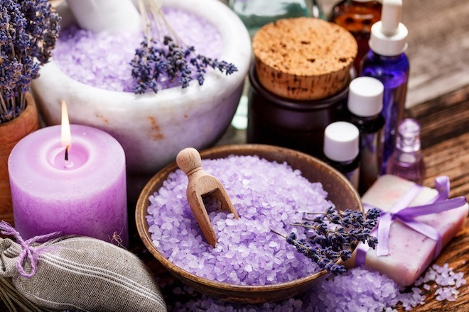 lavender epsom bath salts - bed bug bites treatment