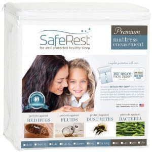 saferest bed bug mattress encasement